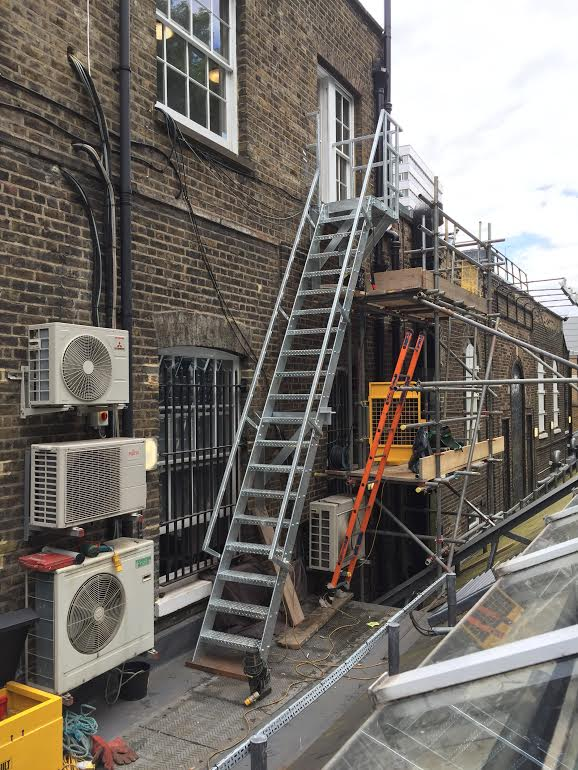 Fire Escape Repair Renovation Installation staircase